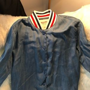 Mossimo Denim Button Up Jacket
